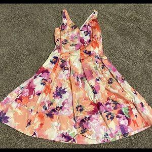 Ralph Lauren formal floral dress